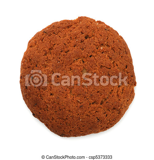 Oatmeal cookie - csp5373333