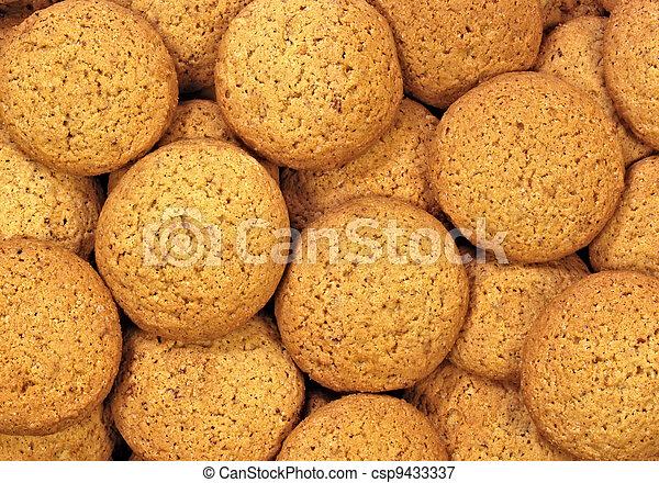Oatmeal cookies - csp9433337