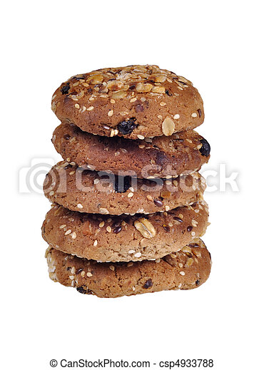oatmeal cookies - csp4933788