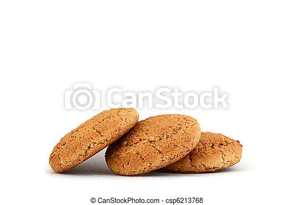 Oatmeal cookies - csp6213768