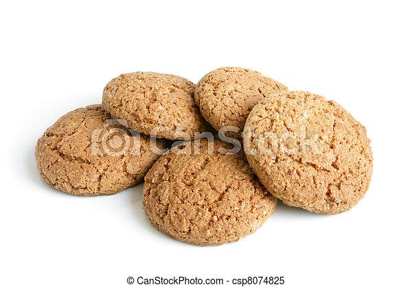 Oatmeal cookies - csp8074825