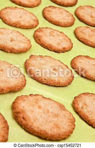 Oatmeal cookies - csp15452721