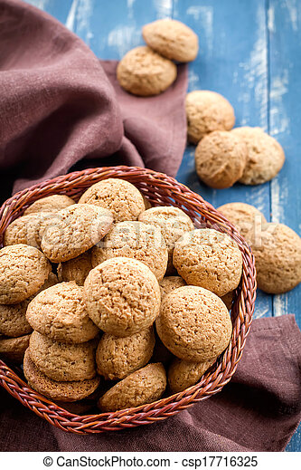 Oatmeal cookies - csp17716325