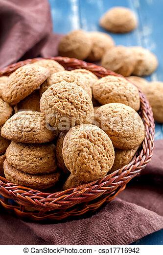 Oatmeal cookies - csp17716942