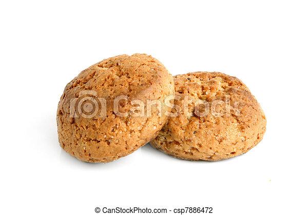 Oatmeal cookies - csp7886472