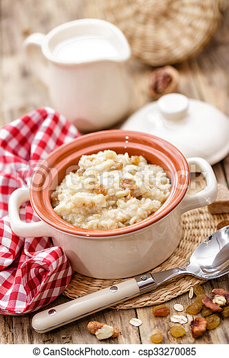 oatmeal - csp33270085