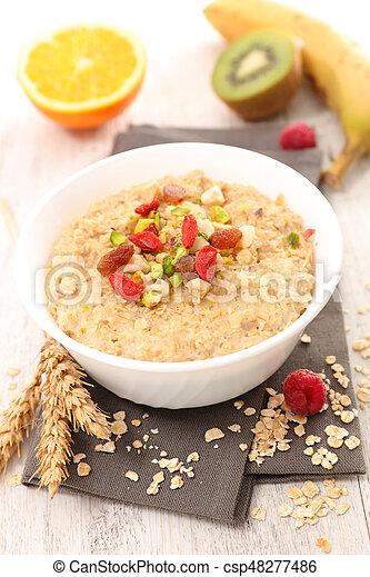 oatmeal porridge - csp48277486