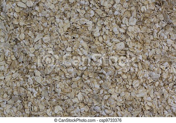 Oatmeal - csp9733376