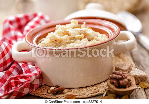 oatmeal - csp33270141