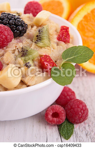 oatmeal - csp16409433