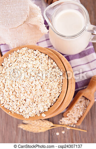 oatmeal - csp24307137