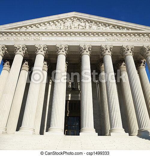 obergerichtshof ogh, gebäude. - csp1499333