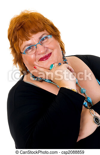 Obese woman - csp2088859