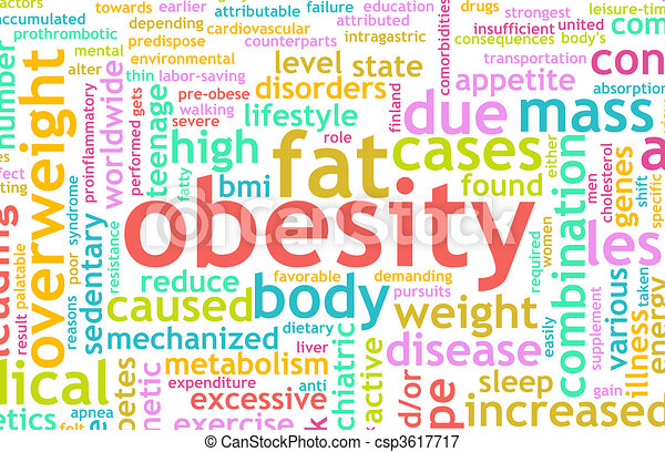 Obesity Concept Of Being Overweight And Unhealthy Canstock