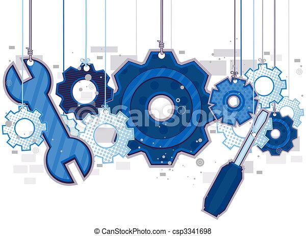 obiekty, mechaniczny - csp3341698