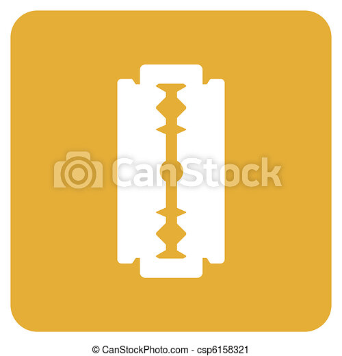 Objects collection: Razor Blade - csp6158321