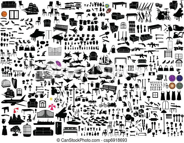 objekt, diverse - csp6918693