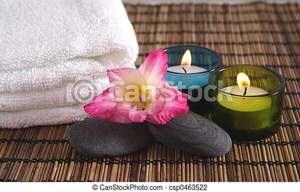Objetos de spa aromáticos - csp0463522