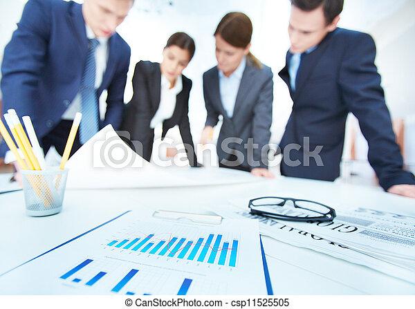 objetos, empresa / negocio - csp11525505