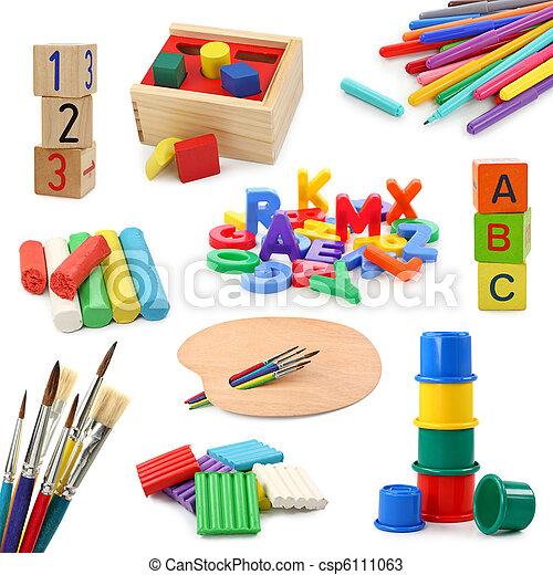 Coleccion de objetos de preescolar - csp6111063