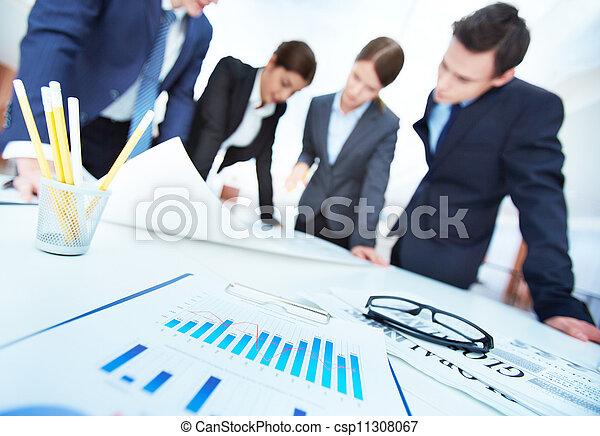 objets, business - csp11308067