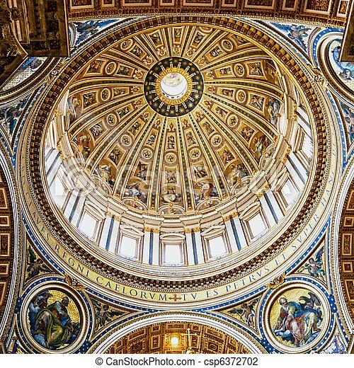 La obra maestra del Vaticano - csp6372702