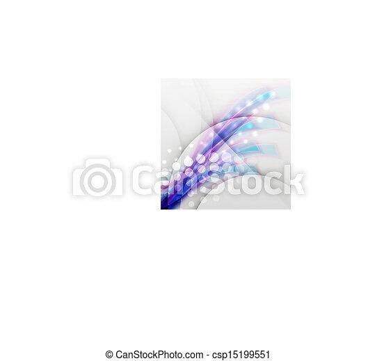 obscurecido, vetorial, desenho, modernos, onda - csp15199551
