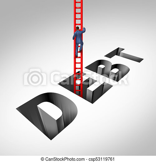Salir de la deuda - csp53119761