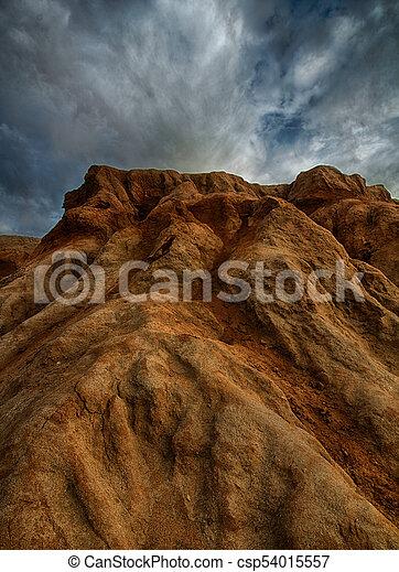 Sunset Cliffs arenisca erosión - csp54015557