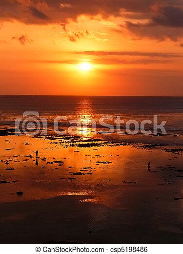 Bali Sunset - csp5198486