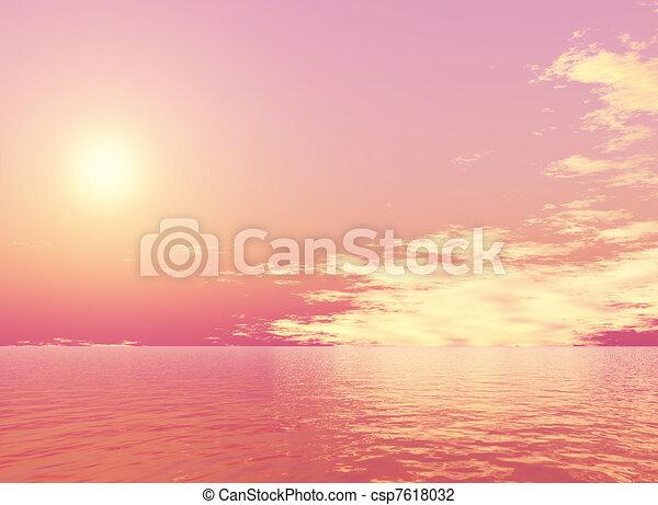 Sunset - csp7618032