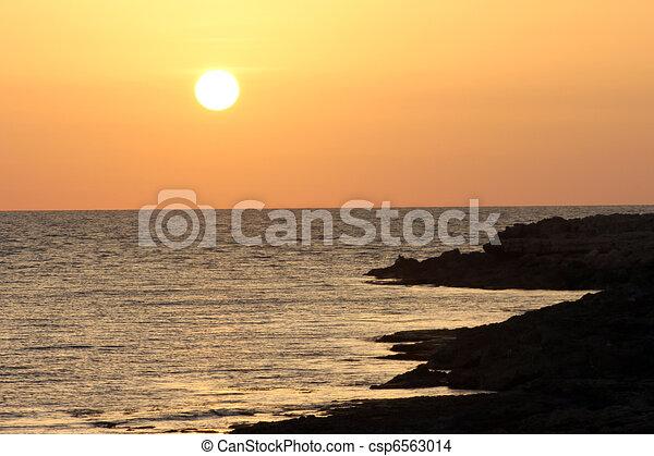 Sunset - csp6563014
