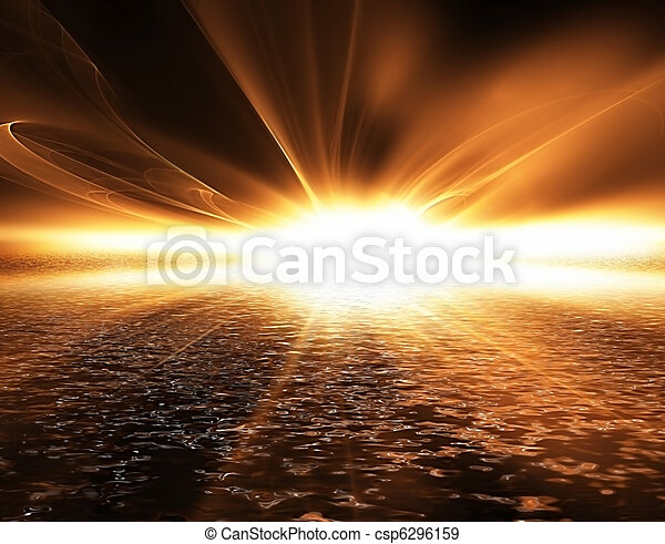 Sunset - csp6296159