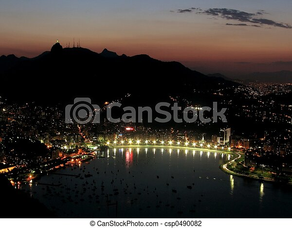 Sunset en Rio de Janeiro - 2 - csp0490082