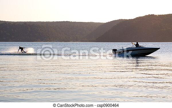 Buque de velocidad Sunset Waterski - csp0900464