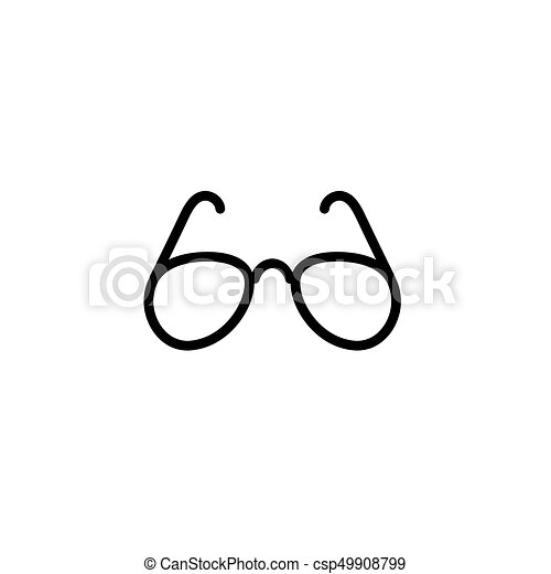 codice promozionale 06b01 29857 occhiali da sole, linea, nero, magro, icona