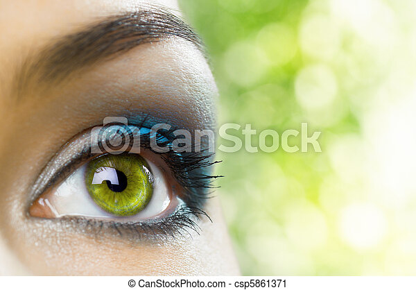 occhio, bellezza - csp5861371