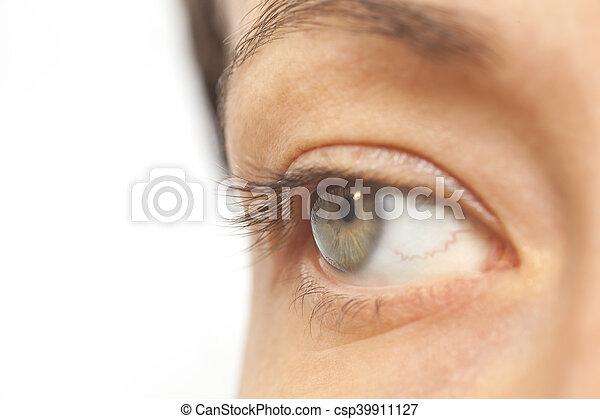 occhio, donna - csp39911127