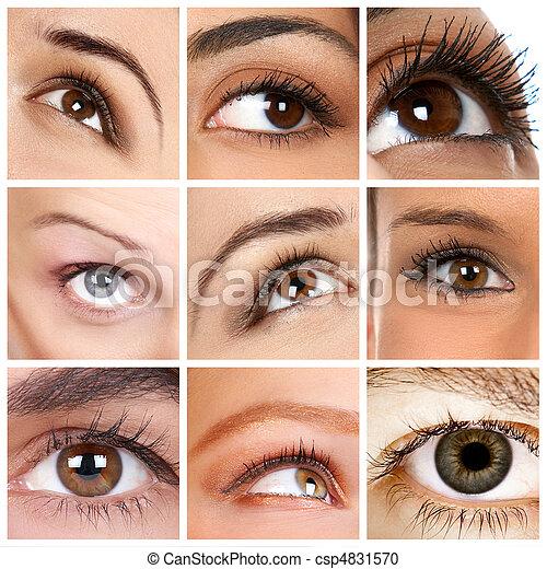 occhio donna - csp4831570