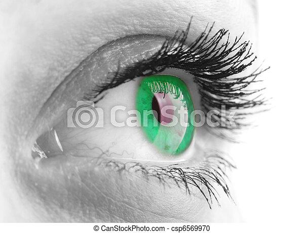 occhio donna - csp6569970