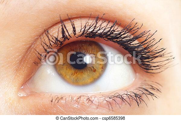 occhio donna - csp6585398