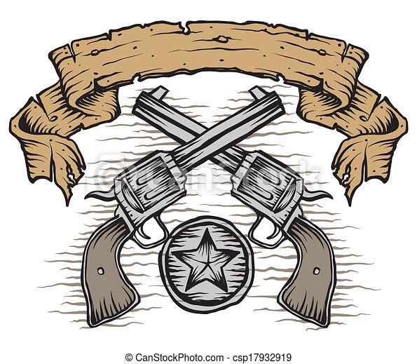 occidental, fusils - csp17932919