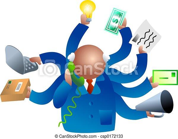 occupé, business - csp0172133