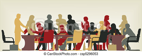 occupato, riunione - csp5296053