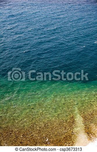 Ocean Background - csp3673313