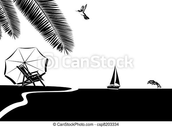 Ocean beach csp8203334