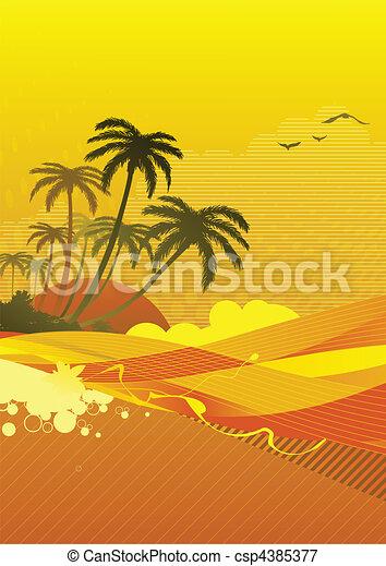 ocean coast - csp4385377