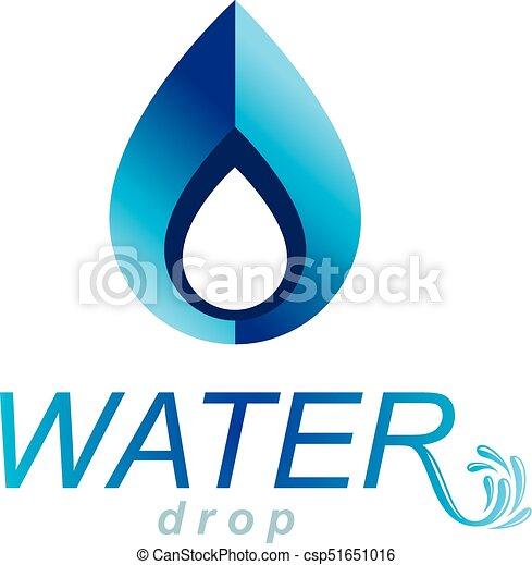ocean freshness theme vector logotype for use as marketing design