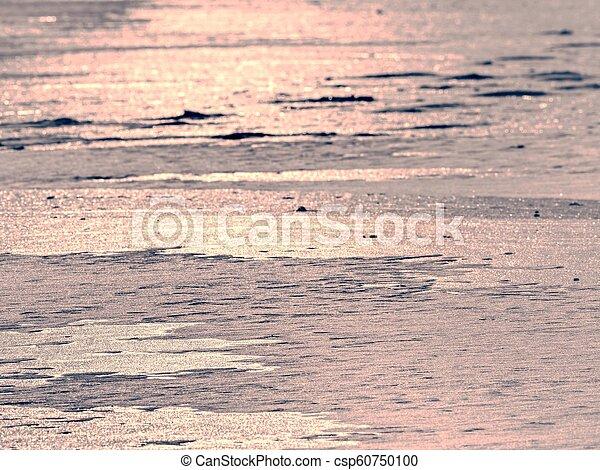 Ocean iceberg pieces, pure antarctic landscape. Iceberg floe - csp60750100