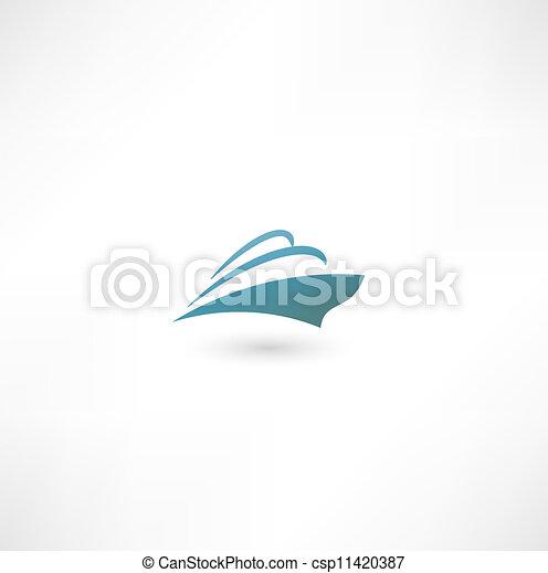 Ocean Liner. Cruise Ship - csp11420387
